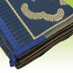 Blue Mat Detail